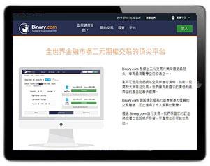 Binary.com電腦圖